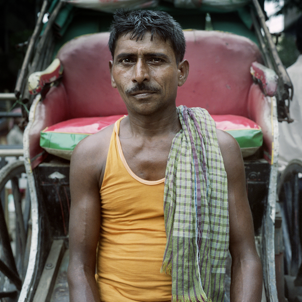 """The last rickshaw pullers of Kolkata"""