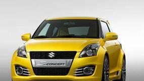 Nadjeżdza Suzuki Swift w wersji Sport
