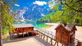 Lago di Braies - jedno z najpiękniejszych jezior we Włoszech