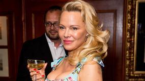 Pamela Anderson na pokazie w Londynie. Modelka nie wygląda najlepiej