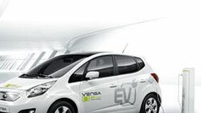 Elektryczna Kia Venga już na testach