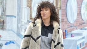Natalia Kukulska w futerku i luźnej stylizacji na ulicy. Jak wypadła?