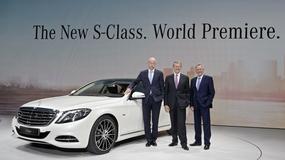 Nowy Mercedes Klasy S W222