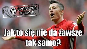 Lewandowski bohaterem memów po meczu z Borussią