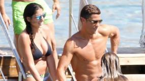 Cristiano Ronaldo świetnie się bawił w towarzystwie pięknych kobiet