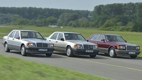 Porównanie Mercedesów z silnikiem M103 - jeden silnik, trzy auta