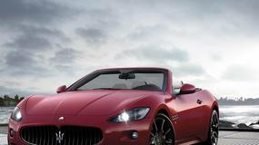 Bardziej sportowe Maserati GranCabrio