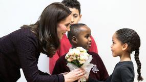 Księżna Kate Middleton na spotkaniu z dziećmi. Wygląda kwitnąco!