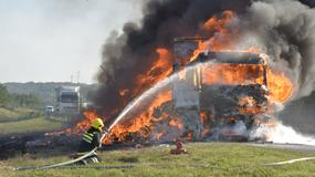 Borba sa požarom kod Krnjeva: Ceo kamion PROGUTALA vatra