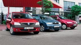 Dacia Logan kontra Fiat Albea i Skoda Fabia: sedany dla tych co liczą każdy grosz