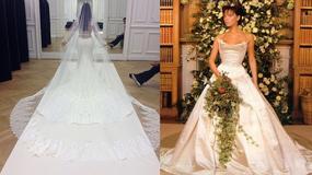 Najdroższe suknie ślubne gwiazd