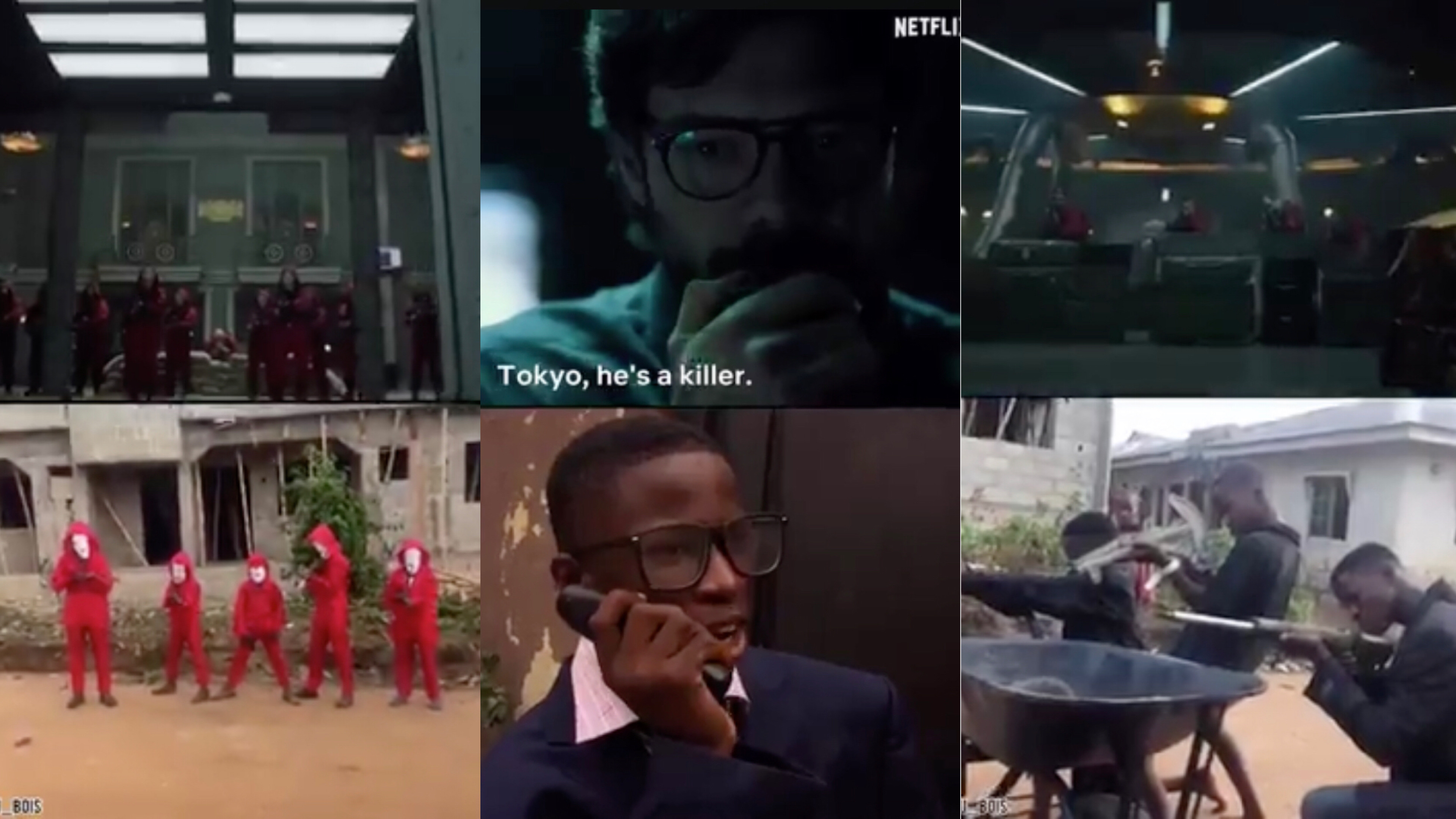Money Heist: Nigerian kids grab Professor's attention with Ikorodu ...