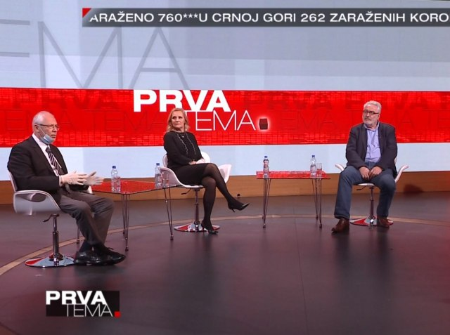Dr Predrag kon, dr Tanja Jovanović i dr Branislav Nestorović