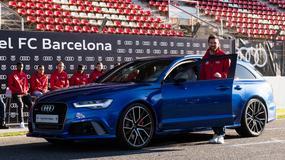 Piłkarze Barcelony mają nowe samochody. Messi wybrał kombi