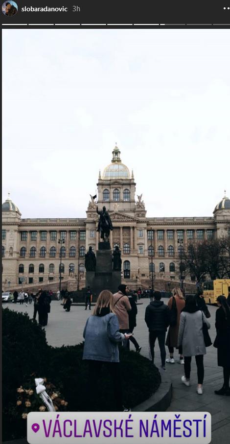 Sloba Radanović u Pragu