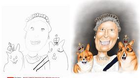 Ojciec z rysunków swoich dzieci tworzy piękne ilustracje. Internauci oszaleli na punkcie tych obrazków