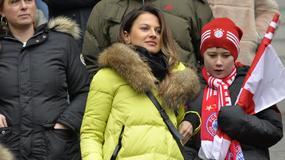 Anna Lewandowska kibicowała mężowi podczas meczu z HSV