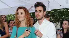 Iwona Cichosz z chłopakiem na imprezie. On wyglądał elegancko, za to ona...