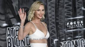 """Charlize Theron i Sofia Boutella na premierze """"Atomic Blonde"""" w Berlinie"""