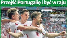 """""""Herosi"""", """"Drżyj Portugalio"""" - gazety o sobotnim wygranym meczu Polski ze Szwajcarią"""