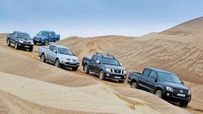 Towar czy lifestyle? Toyota Hilux kontra Ford Ranger, Mitsubishi L200, Nissan Navara i VW Amarok