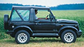 Suzuki Samurai - Maluch do off-roadu