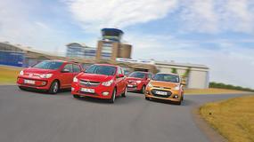 Volkswagen up! kontra Opel Karl, Renault Twingo i Hyundai i10 - który jest najlepszy w klasie