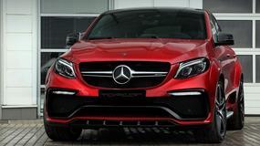 Piekielny Mercedes GLE Coupe przerobiony przez TopCar
