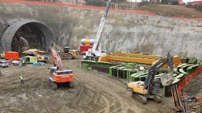 Przy Zakopiance trwają prace nad budową najdłuższego tunelu w Polsce. Powstanie na czas