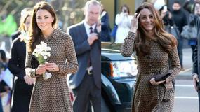 Kate Middleton drugi raz w tej samej sukience. Wpadka?