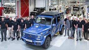 Mercedes klasy G: 300 tys. modeli z Grazu