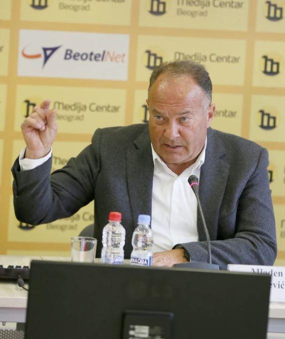 Ministar prosvete Mladen Šarčević