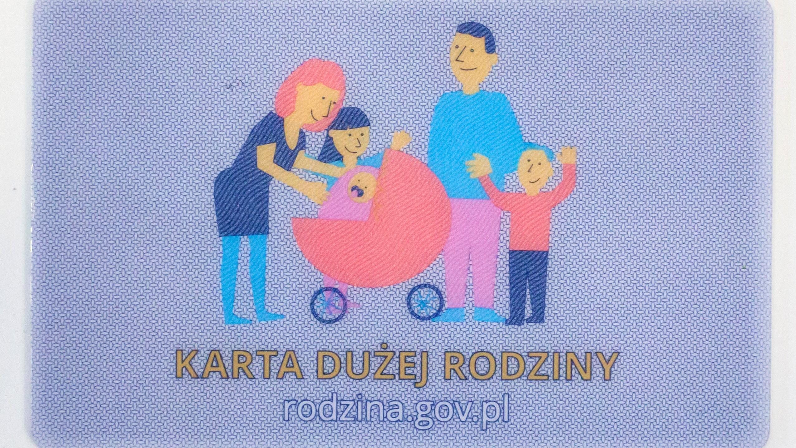 Karta Duzej Rodziny W Elektronicznej Wersji