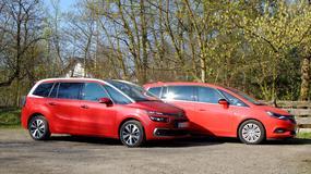 Citroën Grand C4 Picasso i Opel Zafira – dwa (nie)podobne kompaktowe vany | TEST