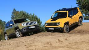 Jeep Renegade 4x4 1.4 kontra Jeep Renegade  2.0 Trailhawk - rodzinna potyczka
