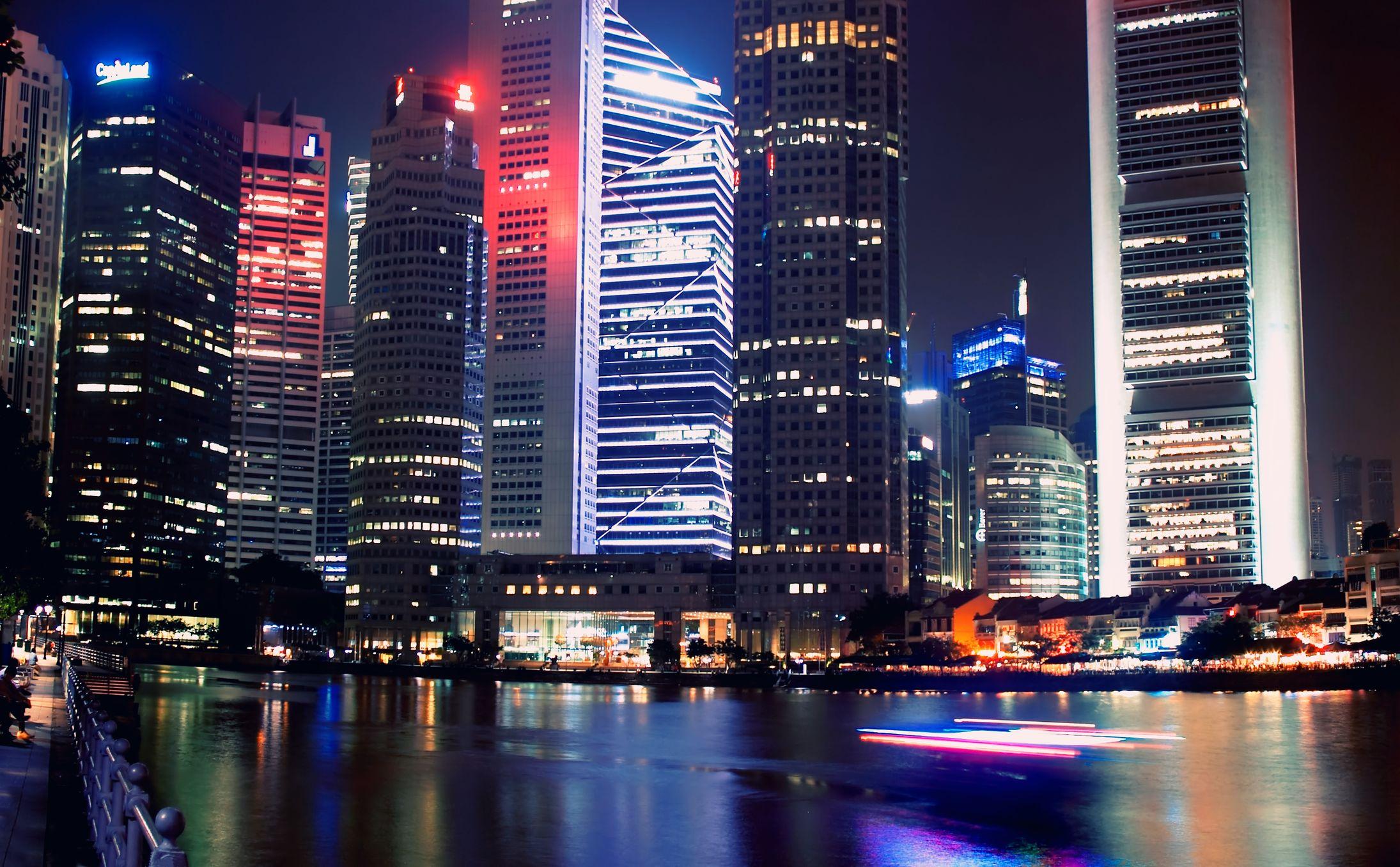 Najlepsze miejsca, aby połączyć się w Singapurze