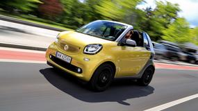 Smart Fortwo cabrio - Wiatr w pigułce