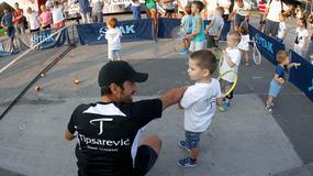 Tipsarević okupio zvezde našeg tenisa i u Beogradu oduševio mališane! /FOTO/