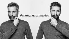 Rafał Maślak razem z ojcem wzięli udział w kampanii dotyczącej AIDS