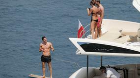 Robert i Anna Lewandowscy na wakacjach