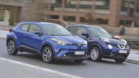 Odlotowa para - Nissan Juke i Toyota C-HR