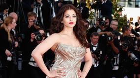 Aishwarya Rai błyszczy na festiwalu w Cannes