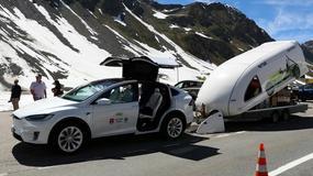 Elektryk też potrafi - alpejską trasę 1600 kilometrów na prądzie pokonało 112 pojazdów