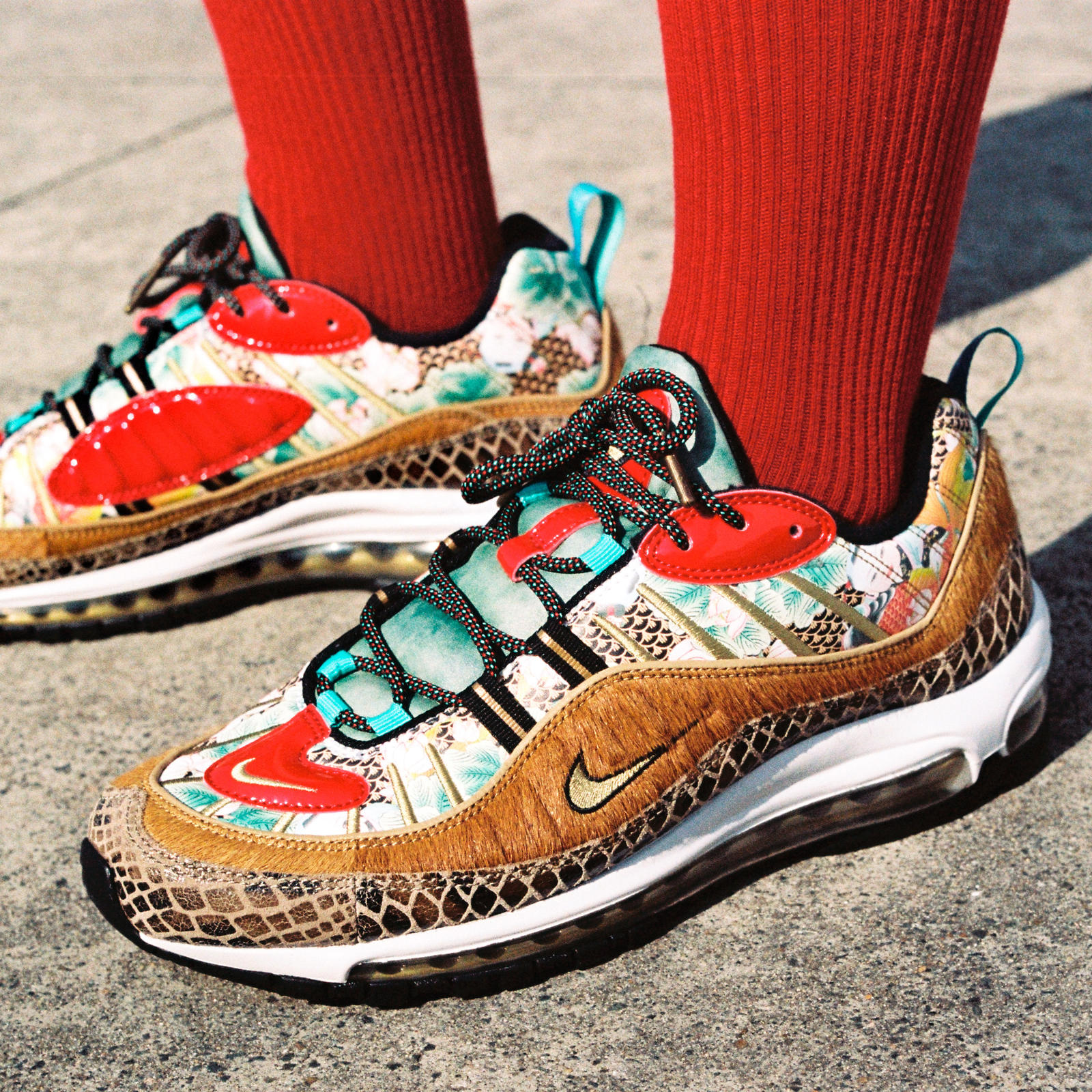 Nike Air Max 98 Chinese New Year Noizz