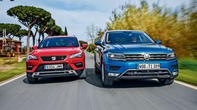 Seat Ateca kontra Volkswagen Tiguan - niby takie same, a jednak inne