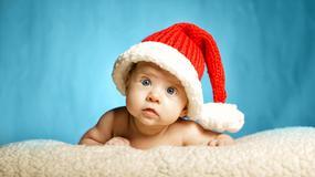 Maluchy w świątecznych stylizacjach