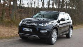 Land Rover Discovery Sport - na asfalt i bezdroża