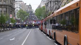 PROTEST KROZ ŠOFERKU Ovako je izgledala vožnja GSP-om kraj demonstracija