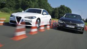 Alfa Romeo Giulia kontra BMW serii 3 - pierwsze starcie