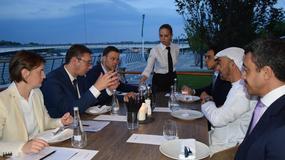 (FOTO) Večera za Bin Zajeda, prisustvovali Ana Brnabić i Siniša Mali